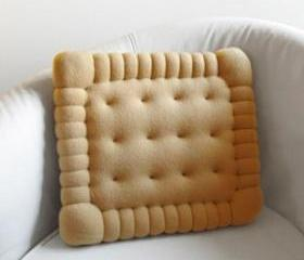 Petit Beurre cookie Cushion Pillow