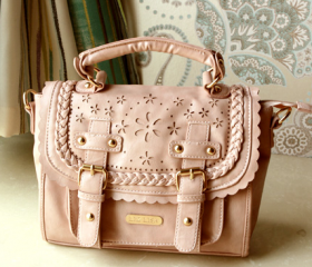 3 colors Sweet Lace vintage Pierced Bag